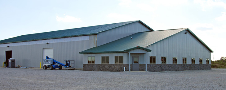 steel buildings barns storage agriculture office buildings design build dunipace buildings build a office